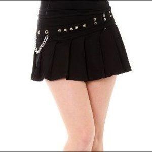 Sale!! Black pleated skirt